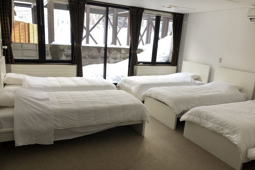 Group room B (room for 6 people) 24,000 yen -